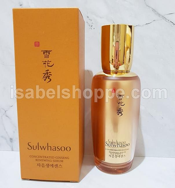 CONCENTRATED GINSENG RENEWING SERUM 50ML