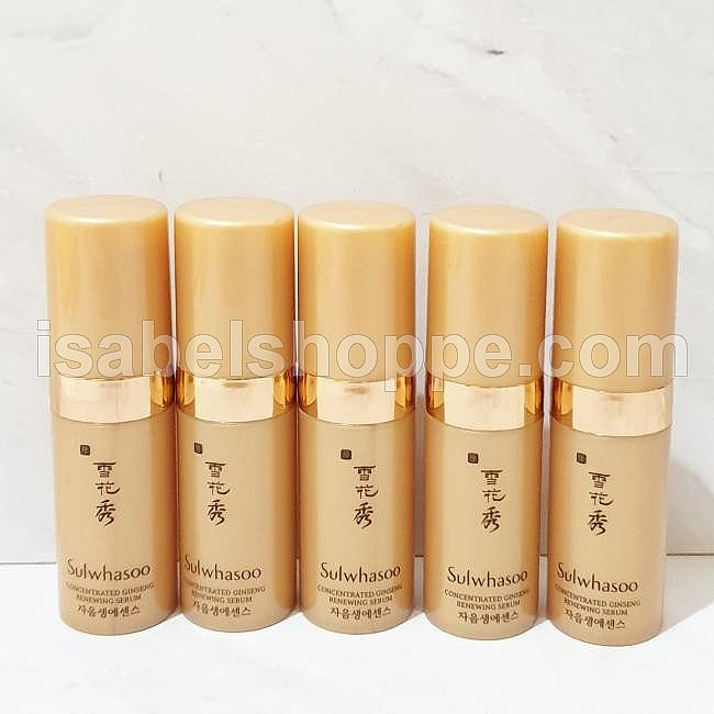 BELI 4 GRATIS 1  GINSENG RENEWING SERUM 4ML X 5 PC