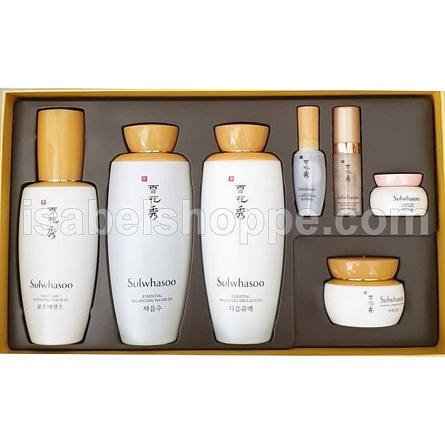 SULWHASOO ESSENTIAL TRIO SET FCAS 90ML