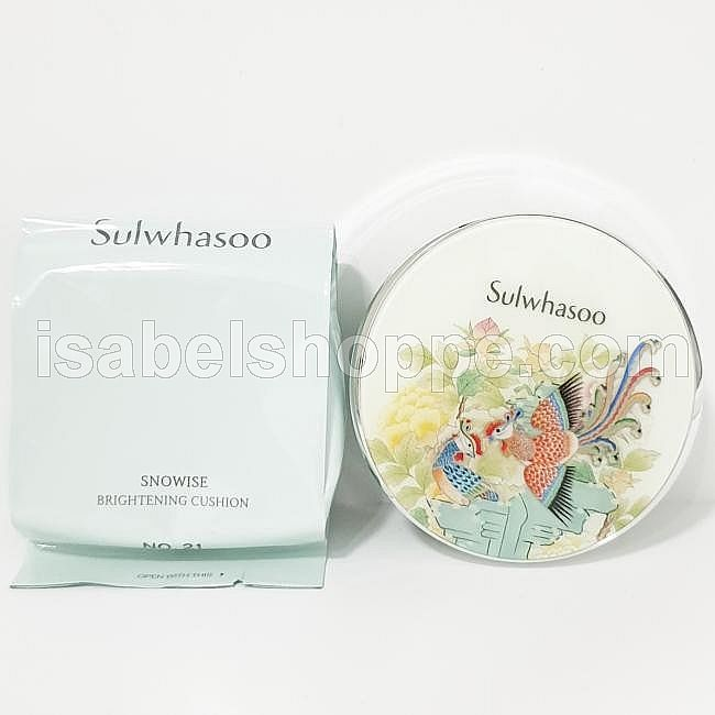 LIMITED EDITION SNOWISE PERFECTING CUSHION 15GR X2 NO.21