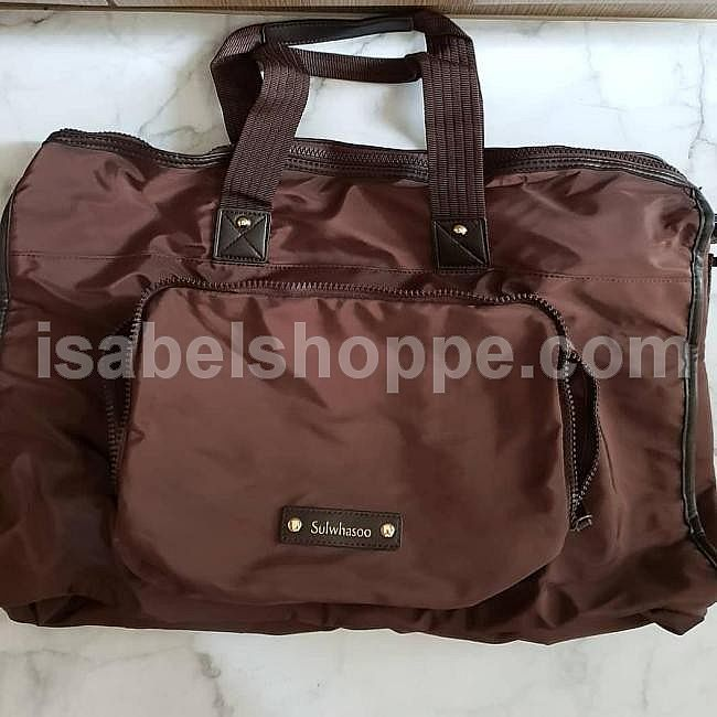 SULWHASOO TRAVEL BAG BROWN