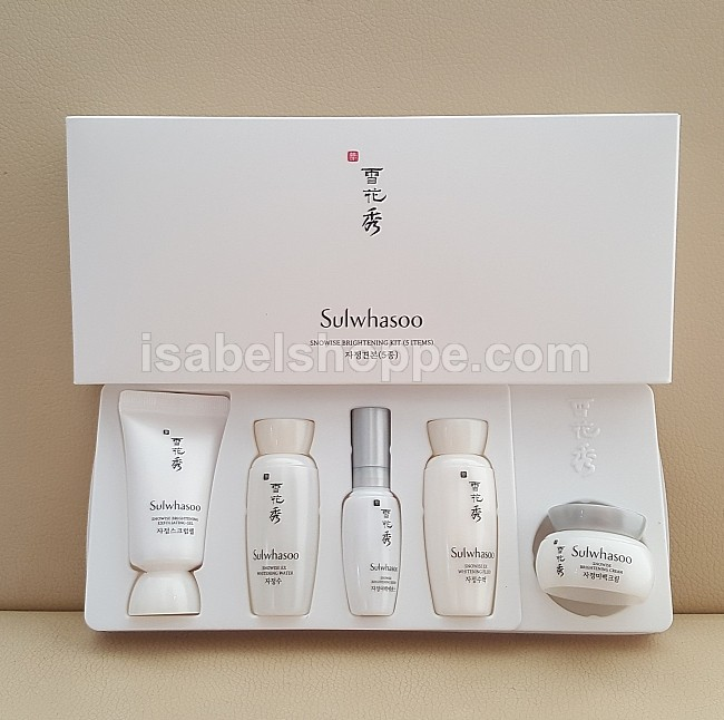 NEW! SNOWISE EX BRIGHTENING KIT 5 PC