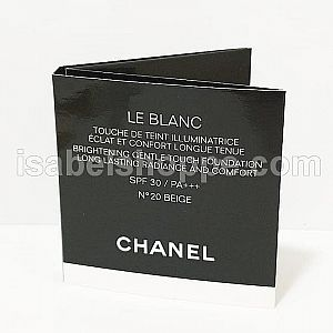 CHANEL LE BLANC BRIGHTENING GENTLE TOUCH FOUNDATION TRIAL 3ML
