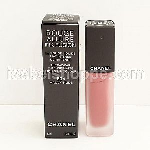 CHANEL ROUGE ALLURE INK FUSION 804 MAUVY NUDE